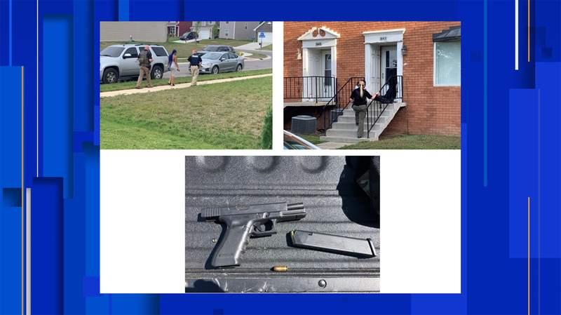 Images courtesy of the U.S. Marshals.