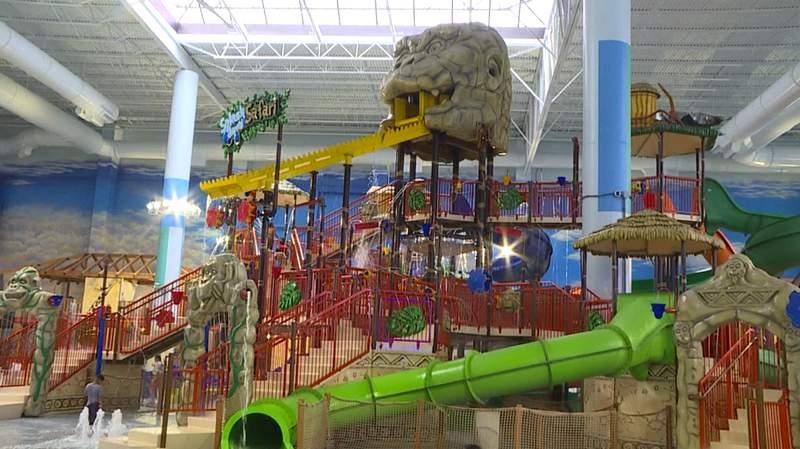 Kalahari Resorts & Conventions in Round Rock is America's largest indoor waterpark resort.