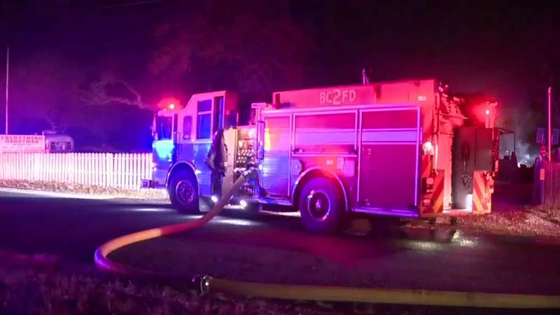 Ammunition in burning shed creates dangerous situation for firefighters