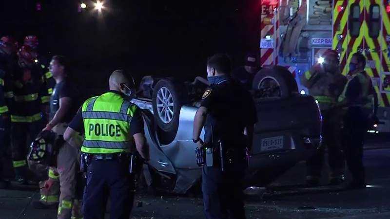 SAPD: Woman extracted from vehicle with 'Jaws of Life' after crashing into utility pole on West Side