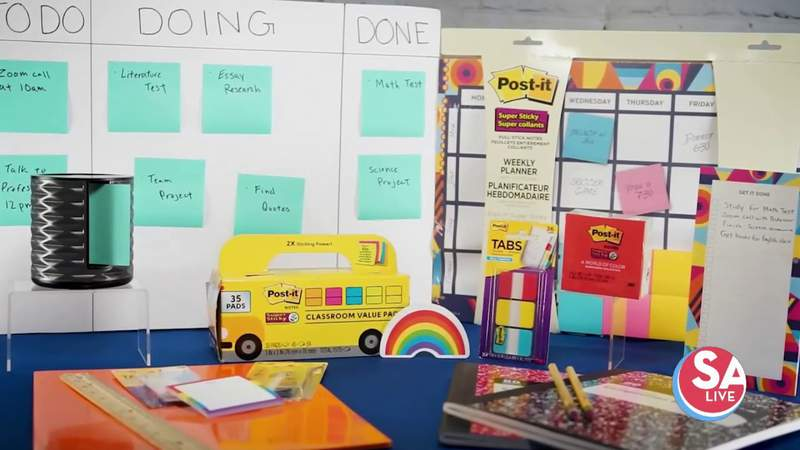 Items to help you get this kids organized for school at home | SA Live | KSAT 12