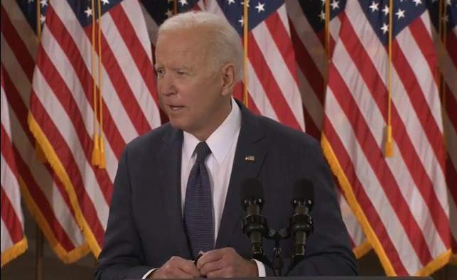 President Joe Biden said on Wednesday that he supports unions.