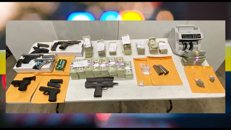 BCSO investigators seize $350,000 in cash, cars, property at site of illegal gambling raid