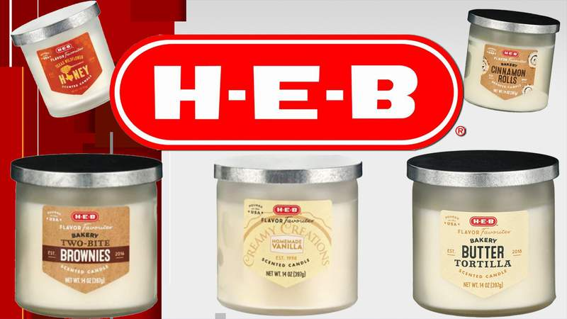 H-E-B candles