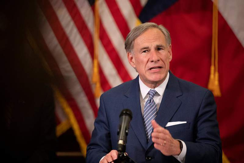 Gov. Greg Abbott laid out his legislative priorities on Monday. In an interview with The Texas Tribune on Tuesday, he signaled that he is open to reconsidering his executive powers during state emergencies. (Credit: Miguel Gutierrez Jr./POOL via The Texas Tribune)