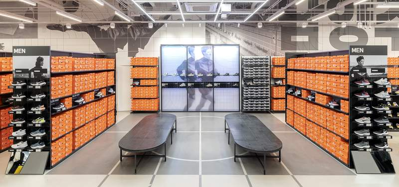 Nike Unite store interior