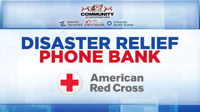 Ksat Community Hosts Disaster Relief Phone Bank Friday For