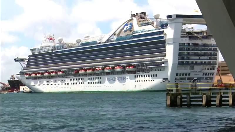 File photo of a Royal Caribbean ship.