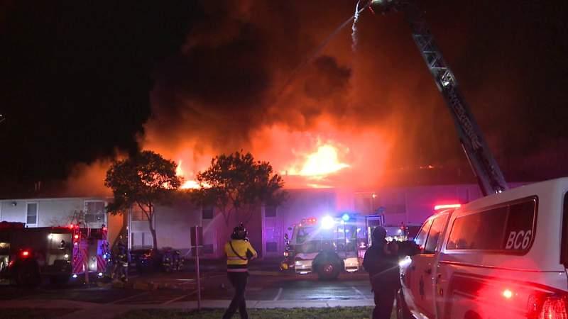 GF Default - 2-alarm apartment fire displaces 55 residents
