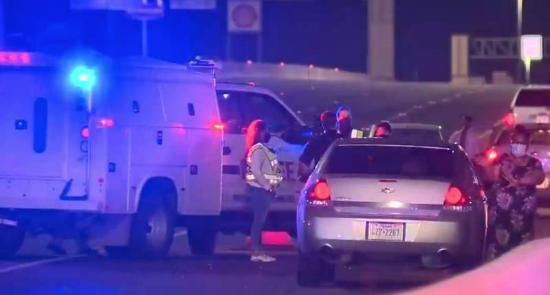 A man was fatally struck by a vehicle overnight on the West Side when trying to walk across the eastbound lanes of I-410, according to San Antonio police.