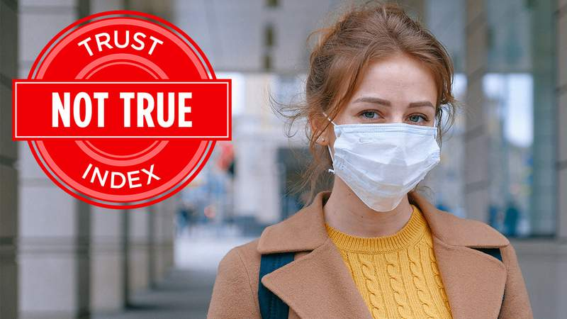 It's all about size! Why experts say it's false to say masks don't filter out coronavirus because odors can get in.