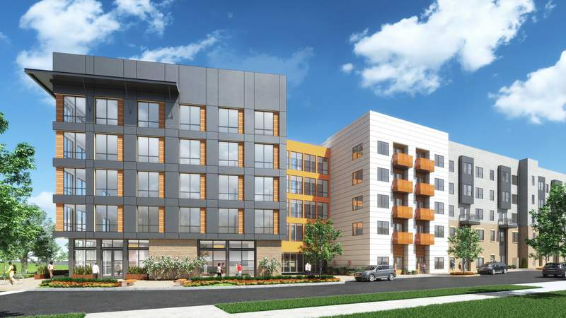 Encore Enterprises is planning one of the next new apartment projects along the Broadway corridor.