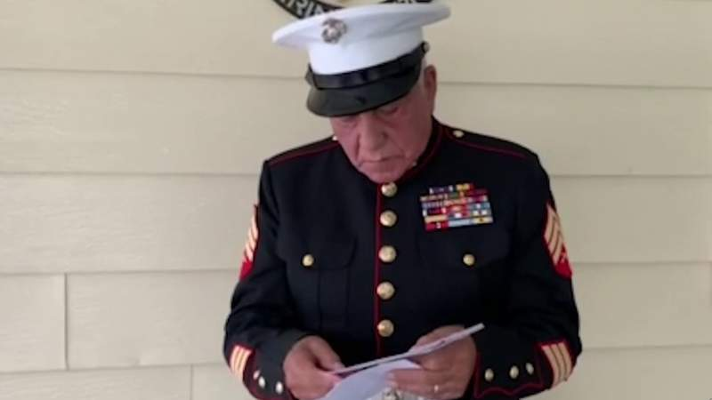 Vitas Healthcare in San Antonio collecting letters for veterans