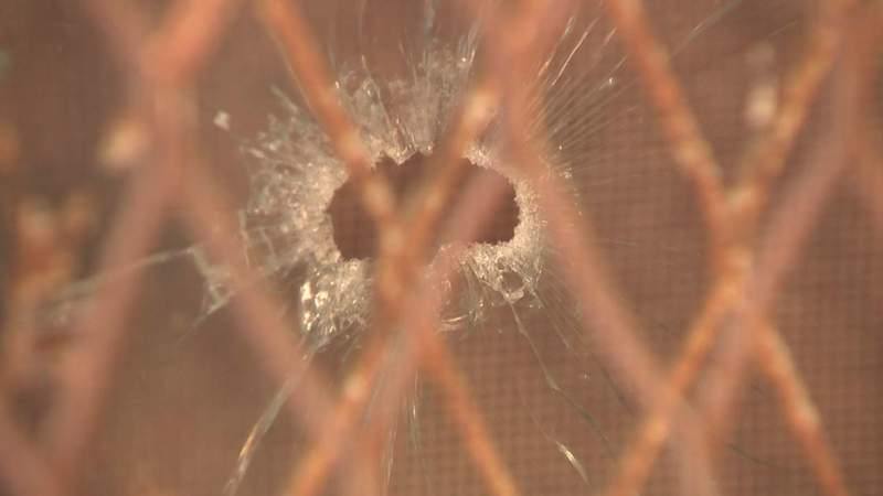 Family ducks bullets fired into their home two days in a row