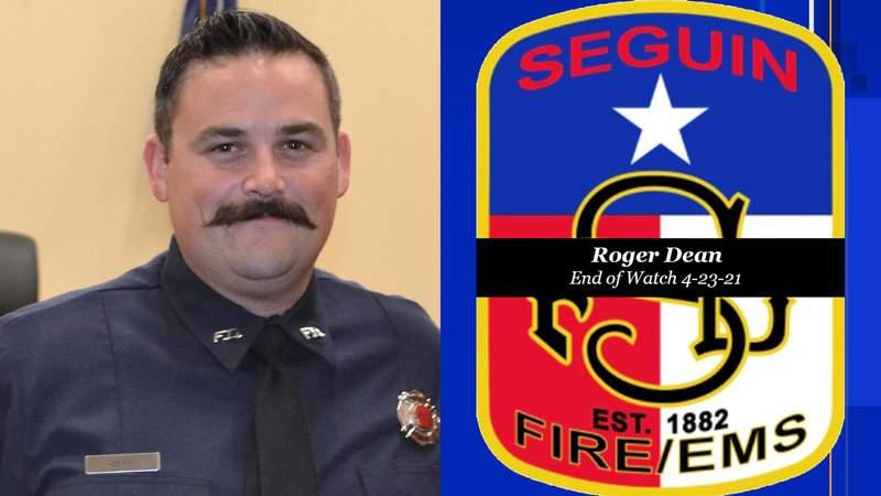 Seguin Firefighter Roger Dean