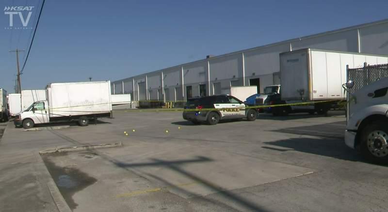 SAPD investigates shooting in the 4500 block of Macro.