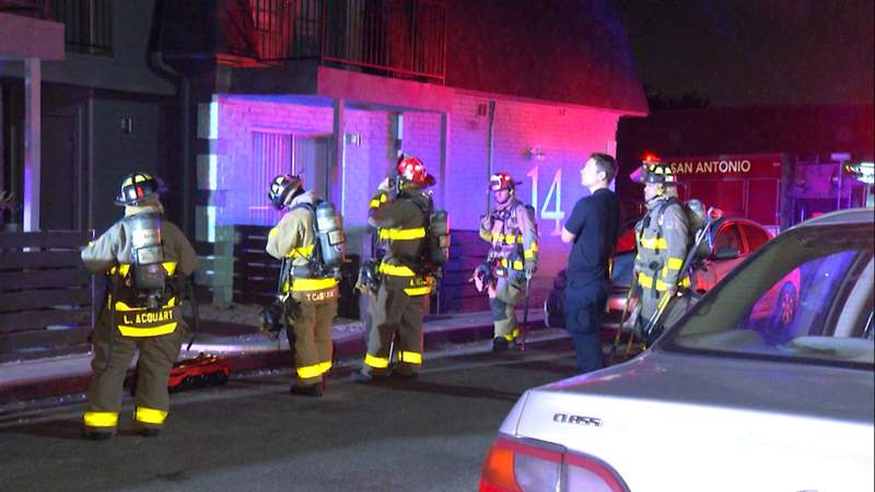 Fire successful  bath  damages flat  connected  North Side