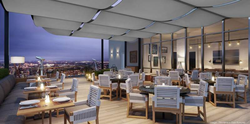 Thompson San Antonio, the 162-room luxury hotel that will anchor a new mixed-use development along the banks of the River Walk, has unveiled plans for a collection of restaurants and bars it will introduce to the Alamo City in early 2021.