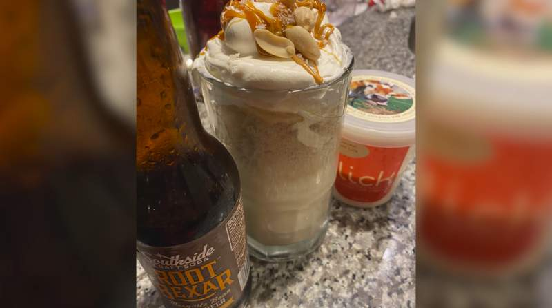 Root Bexar Float? A San Antonio twist on a classic for National Root Beer Float Day.
