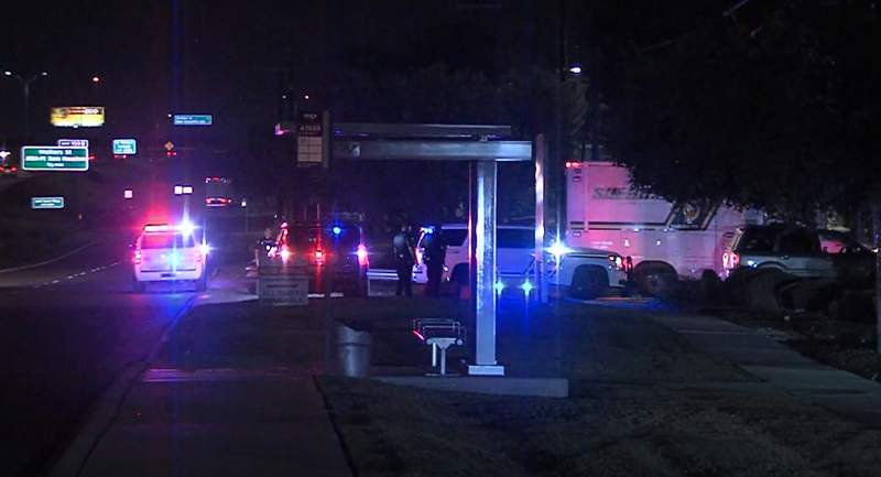 A man was shot and killed by a sheriff's deputy after fleeing the scene of a traffic stop and allegedly firing a gunshot in their direction, according to the Bexar County Sheriff's Office.
