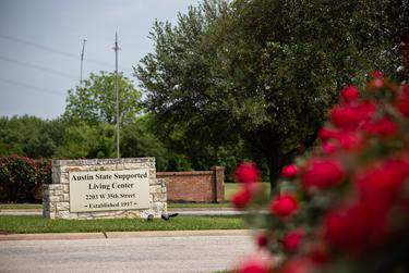A State Supported Living Center located in Austin on April 21, 2020. Texas officials cite medical privacy laws to refrain from publicly disclosing cases of COVID-19 among staff and residents in state-supported living centers. (Eddie Gaspar/The Texas Tribune)