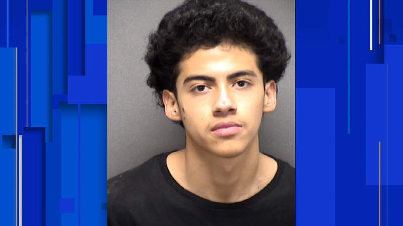 Christopher Raul Rodriguez, 17, faces a charge of burglary with intent to commit theft.