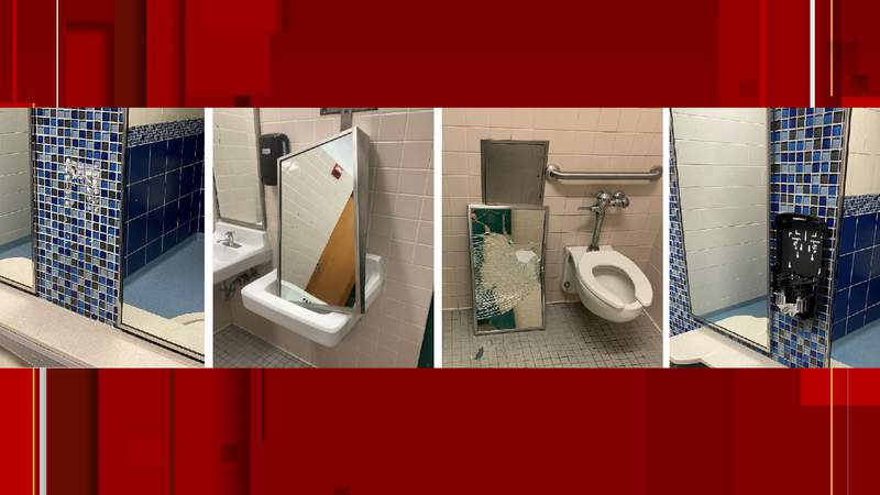 NEISD reported vandalism at several high school campuses.