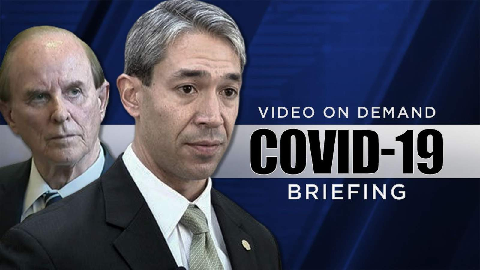 San Antonio Mayor Ron Nirenberg and Bexar County Judge Nelson Wolff updated the community about the local response to COVID-19 in their daily briefing Wednesday night.