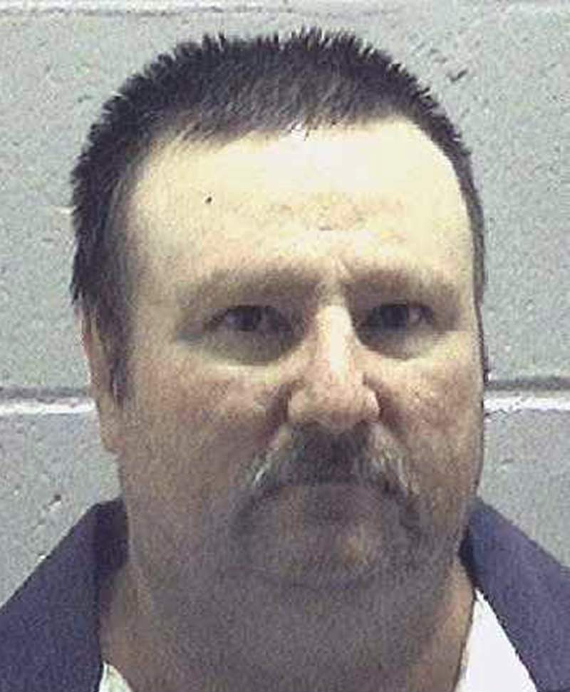 This undated photo made available by the Georgia Department of Corrections shows Jimmy Fletcher Meders. On Monday, Dec. 30, 2019, authorities said Meders, convicted of killing a convenience store clerk more than 30 years ago, is is scheduled to be put to death on Jan. 16, 2020. (Georgia Department of Corrections via AP)