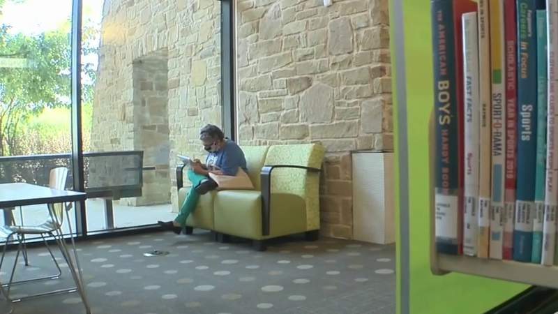 San Antonio public libraries act as cooling centers for seniors