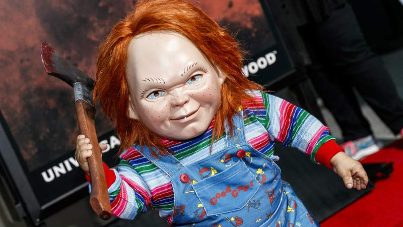 UNIVERSAL CITY, CA - SEPTEMBER 15: Chucky attends Halloween Horror Nights Opening Night at Universal Studios Hollywood on September 15, 2017 in Universal City, California. (Photo by Rich Polk/Getty Images for Universal Studios Hollywood)