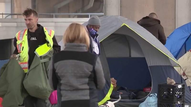 San Antonio's homeless community is becoming more visible after the pandemic