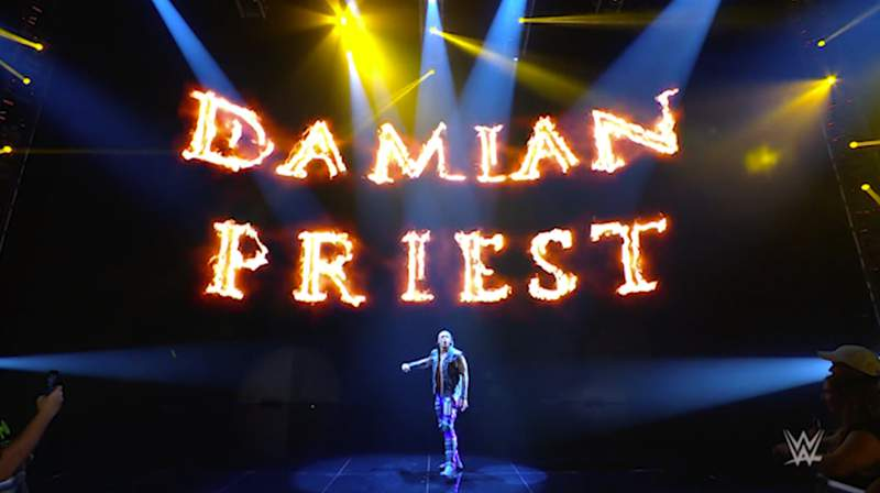 WWE's Damian Priest coming to the AT&T Center for Monday Night RAW.