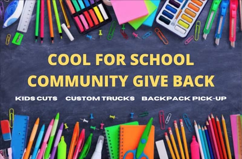Supply drive benefiting Brooks Academy