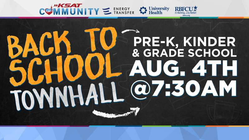 WATCH: KSAT holds town hall for back to school