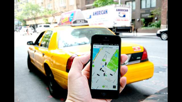 Startups like Uber -- an app that lets people hail a taxi or car service from their mobile phone -- say they are facing unfair legal challenges from the established players.