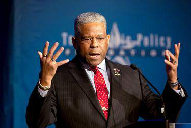 Allen West was elected chairman of the Texas GOP early Monday.      Marjorie Kamys Cotera for The Texas Tribune