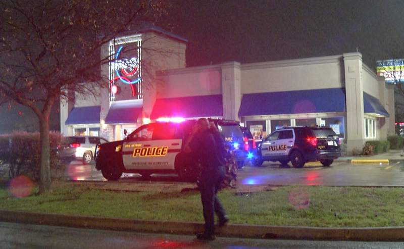 A 44-year-old man died at an area hospital from gunshot wounds after San Antonio police said he was shot at an IHOP restaurant overnight.