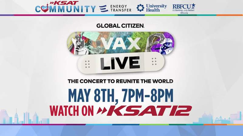 'VAX LIVE: The Concert to Reunite the World' hosted by Selena Gomez to air on KSAT12