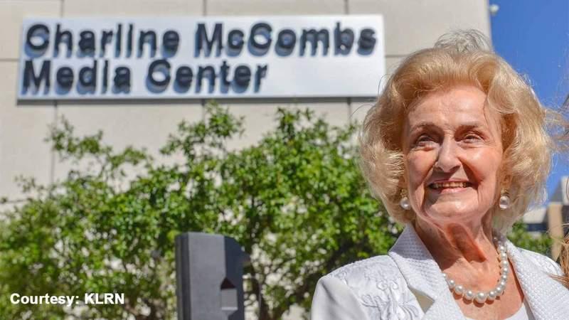 GF Default - Iconic SA philanthropist, former Spurs owner Charline McCombs dies at 91