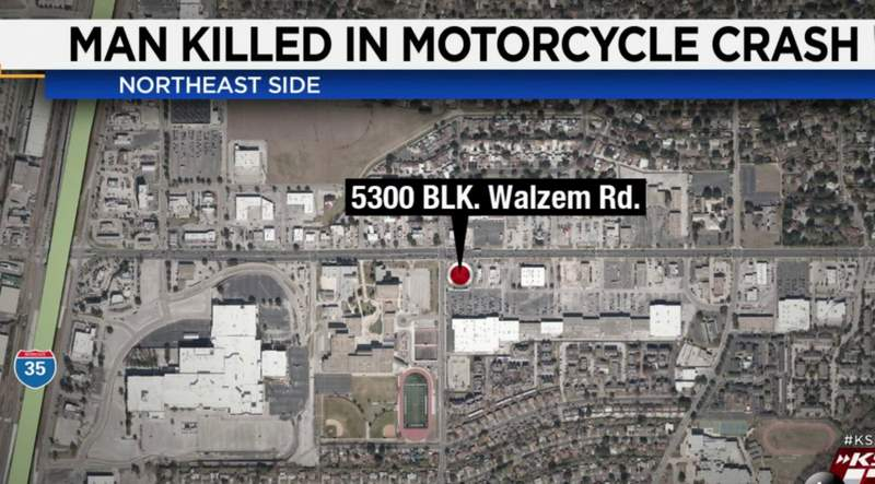 A 31-year-old man is dead after crashing his motorcycle on the Northeast Side, according to San Antonio police.