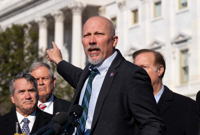 Congressman Chip Roy votes against awarding congressional gold medals to police officers who defended Capitol on Jan. 6