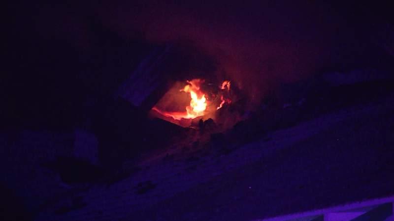Highland fire image