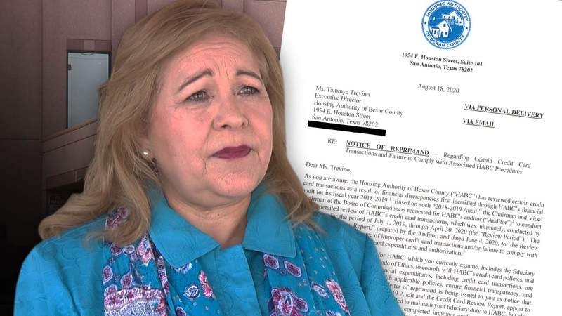 Records show former HABC director Tammye Trevino was reprimanded months before she resigned.