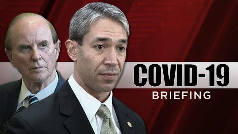 WATCH: San Antonio Mayor and Bexar County Judge give live, daily updates at 6:10 p.m.