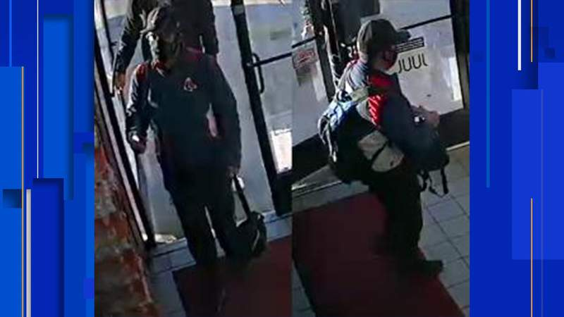 Crime Stoppers is offering a reward of up to $5,000 for information leading to the arrest of a man who allegedly robbed a store in the 7700 block of W. US Hwy 90.