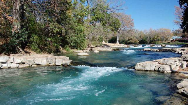 San Marcos River. Photo courtesy SMwatershedinitiative.org.