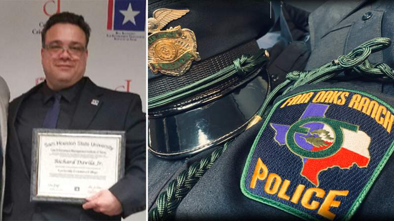 Fired Fair Oaks Ranch Police investigator Richard Davila.