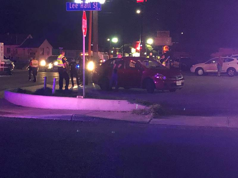 A man was fatally struck by a vehicle on the North Side overnight, according to San Antonio police.