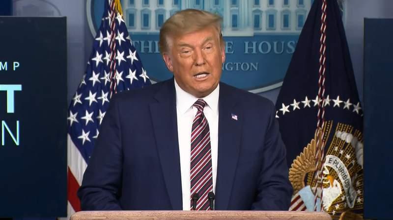 President Donald Trump spoke about lowering the price of prescription drugs on Nov. 20, 2020
